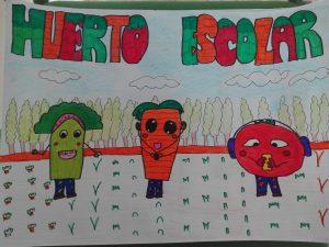 Resultados del concurso de carteles para el huerto escolar